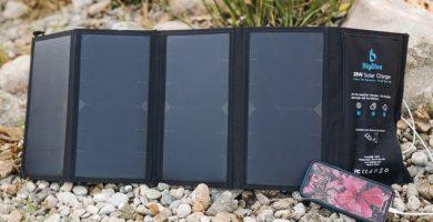 cargador solar movil