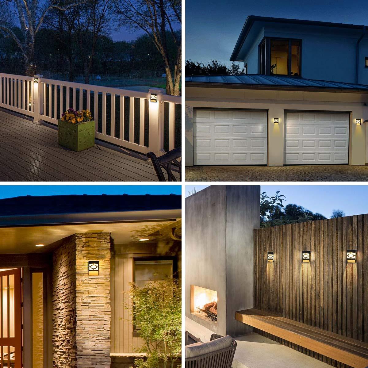 luces solares para el porche